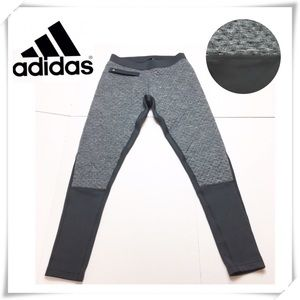 EUC Adidas Outdoor Fleece Sweat Pants Gray